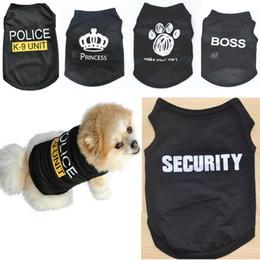 Cheap dog clothes online-Estate Pet Dog Shirt Nero vestiti caldi per cani di piccola taglia Gilet maglia prezzo all'ingrosso all'ingrosso