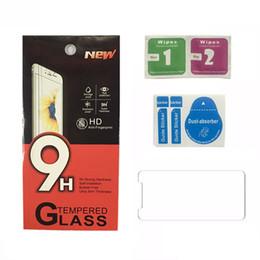 Telefone für i online-2.5D gehärtetes Glas für iPhone xr xs max Displayschutzfolie für Samsung Galaxy s9 i Telefon x 8 7 Plus Papierverpackung