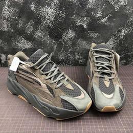 Zapatillas de baloncesto verde lima online-Alta calidad 700 v2 malva verde lima para mujer para hombre zapatos deportivos de baloncesto Kanye West 700s hombres damas marca zapatillas de deporte de lujo