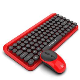 оконная клавиатура xp Скидка Yoteen 2.4 ГГц беспроводная мышь и клавиатура набор эргономичный 84 ключ клавиатура ноутбука портативный подключи и играй для девочек 3 DPI регулируемая