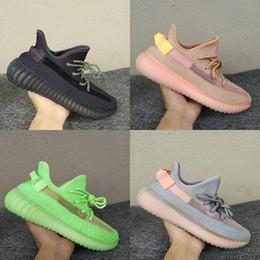 Resplandor Kanye West Negro Blanco Criado Estático 3 M Reflectante Forma Verdadera Arcilla Crema Zebra Blanco Zapatillas de running Hombres Mujeres Diseñador Zapatillas 5-13 desde fabricantes