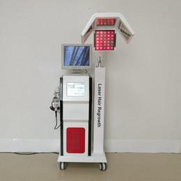 Gebrauchte medizinische geräte online-Laser der Diode 650nm Gerät medizinische Geräte Haarausfall Heilung führen Haarwachstum Laser-Maschine für den Klinikgebrauch