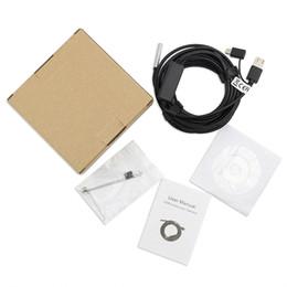 Canada 3-en-1 caméra endoscopique d'inspection d'endoscope USB type-c 5.5mm intégré 6 lumières réglables à LED avec câble 20m ip67 étanche supplier inspection camera endoscope Offre