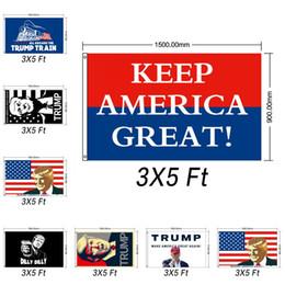 конфетти серебро оптом Скидка Дональд Трамп 2020 Флаг 90 * 150см Дональд Принт Держи Америку Великий Баннер Полиэстер Трамп Президент США Флаг