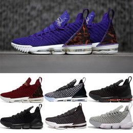 brand new a3330 ef18d 2019 james lebron XVI 16 Rainbow 1 THRU 5 CNY Lakers Oreo Fresh Bred Scarpe  da basket Mens Athletic 15s Scarpe da ginnastica 16s Sports Designer  Sneakers ...