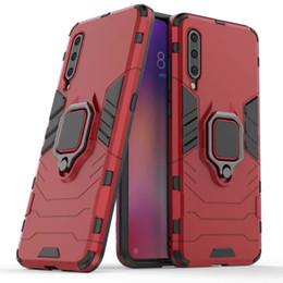 2019 coffret métallique redmi note Cas d'armure de luxe pour Xiaomi Mi9 9T Pro 8Lite A3 A2 8Pro Couverture de support de voiture magnétique pour Redmi Note 8 7 Pro 8 7A Antichoc Cas promotion coffret métallique redmi note
