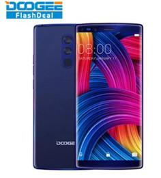 doogee octa core Desconto Doogee Mix 2 Smartphone 6 GB de RAM 64 GB ROM 5,99 Polegada FHD + Helio P25 Octa Núcleo 16MP Dupla Cam Traseira Impressão Digital Telefone 18: 9 sem moldura