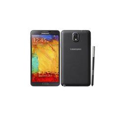 Nota online-Original Reformado Desbloqueado Samsung Galaxy 5.7 pulgadas Note3 Note 3 N900A / T N900V / P 3G + 32GB Andorid Quad Core Cámara WIFI GPS Smartphone