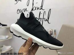 ca1824478ff 2019 Y-3 High quality pure designer mens Primeknit ZG Kint Triple white  black sneakers Casul Shoes Y3 pure shoes sports shoes size 36-45 discount y3  ...