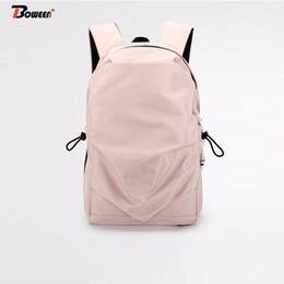 Unisex backpack teenagers boys girls school bag nylon waterproof Large  capacity solid Cool back pack women Casual backbag 2019 cool boy style  backpacks ... a47f403287