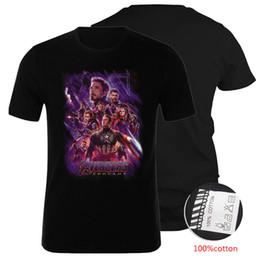 Deutschland Marvel Avengers Endgame Hochwertige 100% Baumwolle T-Shirts Große Kinder Jugendliche Herren Designer T-Shirts Familien passende Outfits DHL SS170 Versorgung