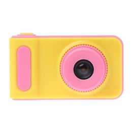 2019 бокс в прямом эфире Милый мультфильм мини цифровая камера для детей Cam 1080 P игрушки для малышей детей рождественский подарок 2.0 дюймовый цветной дисплей