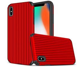2019 Nuevo Hot Hybrid Armor Casos Equipaje cubierta de Shell del teléfono móvil para S9 S8 Nota 9 R Iphone X XS MAX X8 7 6 S Plus desde fabricantes