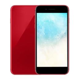 Telecamera wireless quad online-Andriod telefono 8plus RAM 1G ROM 4G 8G 16G MTK6580 Quad Core 5MP fotocamera 3G WCDMA Smartphone senza fili di ricarica impronte digitali telefono scatola sigillata