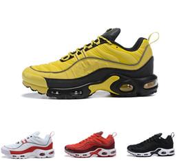 best website b908f 19ad5 2019 Top-Qualität Herren Herren 98 Plus TN Triple Schwarz Weiß Rot Designer  98s Plus Sportschuhe Sneakers Luxus Sport Trainer Größe 40-46 pu plus schuhe  für ...