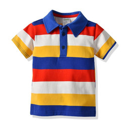 fbb3017b8 Toddler Boys Clothes Striped Polos Shirts 2019 Summer Boys Short Sleeve  100% Cotton Polo Tops Tees Kids Casual Clothing Baby Clothes 1-7Y discount  polo ...
