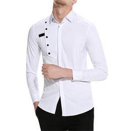 timeless design 619ce 15057 Sconto Camicie Eleganti Uomo Lungo | 2019 Maniche Lunghe ...