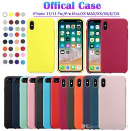 Для iPhone 11 Case Have LOGO Оригинальный Официальный силиконовый чехол для iPhone 11 Pro Max Xs XR 78 Plus чехол для Apple Обложка от