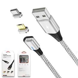 Câbles USB pour téléphone portable 3 dans 1 chargeur magnétique, charge rapide, type de corde en nylon, câble C, ligne de données du câble USB pour Samsung Android ? partir de fabricateur