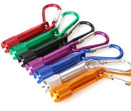 Le meilleur Portable mini torche d'alliage d'aluminium de Keychain de lampe-torche de LED avec l'anneau de mousqueton Keyrings LED mini-lampe de poche Mini-lumière LLFA ? partir de fabricateur