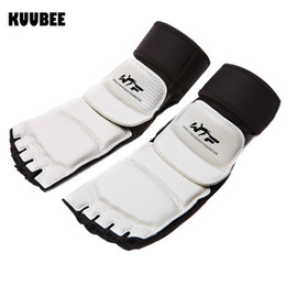 Foot Protective Ankle Supports Taekwondo Karate Instep Guard Foot Boxing Protector Wtf  Accessories cheap taekwondo foot protectors от Поставщики защитные средства для ног taekwondo