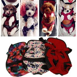 Сумка для собак онлайн-Горячие Продажи Pet Рюкзак Плечо Сумка Собака Кошка Щенок Дышащий Перевозчик Сетки Comfort Travel Tote Слинг