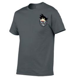 2014664679 camisas montadas estupendas Rebajas Camiseta Hombre Summer Z super son goku  Slim Fit Cosplay 3D Camisetas
