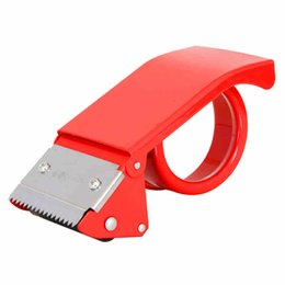 Ruban de charcuterie en Ligne-Deli Carton Sealer Fournitures de bureau Machine à couper la bande Distributeur de bande Dispositif de scellage manuel Articulos De Oficina Y Papeleria
