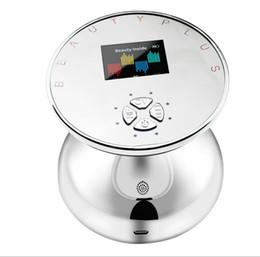 Massaggio corpo scolpito online-RF ad ultrasuoni Photon corpo del dispositivo di dimagrimento con display LCD a colori Face Lift Body Sculpting Massaggio Health Care