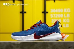 kobe ​​bas hauts Promotion KOBE LOW MAMBA FOCUS bleu AO4434-406 2019 NOUVEAU HOT Top qualité Hommes Sports Basketball Chaussures Hommes Chaussures bottes Chaussures de course mode casual GY