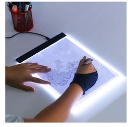 2019 iluminação cruzada Dimmable! Ultrafino A4 LED Tablet Tablet Aplicar para a UE / REINO UNIDO / AU / EUA / Plug USB Diamante Bordado Pintura Diamante Cross Stitch Kits desconto iluminação cruzada