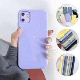 telefoni cellulari colorati Sconti Vetro temperato Specchio telefono cellulare per l'iPhone X XS XS XR Max 6 Shell 7 copertura posteriore di 8 Inoltre vetro temperato Macaron color
