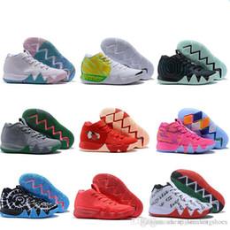info for 6426a 7e8a1 2019 New Kyrie IV Shoes potere è femminile Irving 4 uomini scarpe da basket  4s marca atletica scarpa sportiva mens scarpe da ginnastica sneakers taglia  40- ...