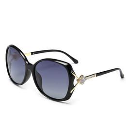 2019 quadros roxo Roxo Moda Feminina Eyewear Mulheres Óculos De Sol Flor Diamante Quadro Polarizada Oversize Óculos de Sol UV Proteção Feminino Óculos De Sol 5 PCS desconto quadros roxo