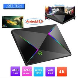 Melhor media player wi-fi on-line-Caixa de TV Android 9.0 M9S Z8 Allwinner H6 4 GB 32 GB 64 GB Caixa de TV Walmart Best Buy inteligente media player Suporte 2.4G Wifi LAN USB 3.0 3D 6 K 4 ...