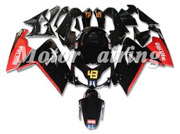 fairing rsv Coupons - New Fairings Fit For Aprilia RS4 RSV125 RS125 06-11 RS125R RS-125 RSV 125 RS 125 2006 2007 2008 2009 2010 2011 Fairing set red black