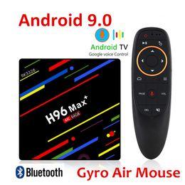 H96 MAX Plus Smart TV Box Android 9.0 Rockchip RK3328 Quad Core 4 Go de RAM 64GB ROM 2.4G Wifi H.265 PRO ? partir de fabricateur