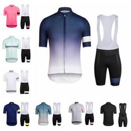 Pantaloncini con bretelle a manica corta Team RAPHA Team Cycling Set Set di abbigliamento sportivo da bicicletta ad asciugatura rapida per gli sportivi outdoor 52723 da