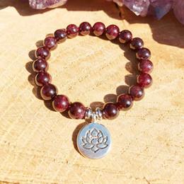 Braccialetto di yoga del nuovo braccialetto delle donne di migliore progettazione 2019 Braccialetto del granoturco di Lotus da