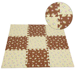interlocking foam mats Coupons - 1pc 30x30x1.0cm Baby Interlocking Foam Floor Play Mat Crawling