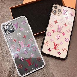 couverture huawei honneur 4x Promotion Luxe Transparent Case pour iPhone 11 Pro Max Case antichocs clair Cas de téléphone couverture arrière pour iPhone XR XS X 7 8 Plus