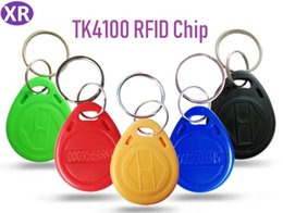token de cartão de identificação Desconto RFID Proximidade ID Token Tag Chaveiro 125 Khz RFID cartões Verde, azul, Preto 1000 pçs / lote