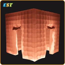 tenda inflável de cubo Desconto Frete grátis Melhor qualidade Portátil inflável photo booth cube tenda para Festa