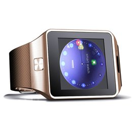 smart watch phone iphone Promo Codes - Bluetooth DZ09 Smartwatch Wrist Watches Touch Screen For iPhone Xs Samsung S8 Android Phone Sleeping Monitor Smart Watch With Retail Package