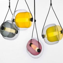 Moderne Designer Créatif Tchèque Capsule Verre Led Pendentif Lumière Post-Moderne Salle À Manger / Studio / Café Lumière Livraison Gratuite ? partir de fabricateur
