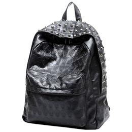 FGGS-Women Life Kız Punk Tarzı Poliüretan Pu Deri Sırt Çantası Çanta supplier punk girl backpack nereden punk girl backpack tedarikçiler
