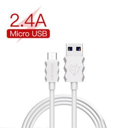 2019 c transmission LENYES 2.4A Câbles Chargeur Rapide 1M Micro USB Câble Lightning Pour iPhone 8 Samsung LG Huawei Type-c Câbles Chargeur De Transmission de Données c transmission pas cher