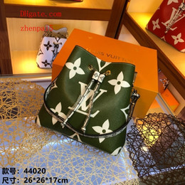 Argentina 2019 brand fashion handbag Pattern print splicing bucket bag Genuine Leather crossbody bag Totes Bags handbags purses woman WE-2 supplier bucket totes Suministro