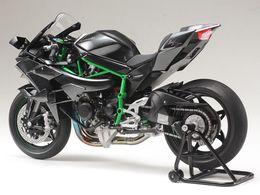 Wholesale Tamiya Plastik Montaj Modeli Kawasaki Ninja H2R Motosiklet Kiti Oyuncak Koleksiyonu Hediye Ücretsiz Kargo