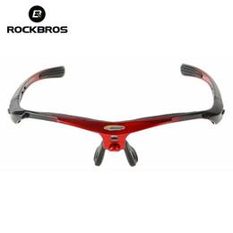 Solo cornici per vetri online-ROCKBROS Bicicletta da bicicletta Bicicletta Occhiali da sole montatura Occhiali montatura per occhiali La bici da bicicletta comprende solo gli occhiali da sole # 46900